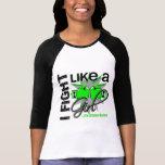 Enfermedad de Lyme que lucho como un chica 13,2 Camiseta