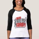 Enfermedad de Parkinsons LLEVO el GRIS PARA MI ABU Camiseta