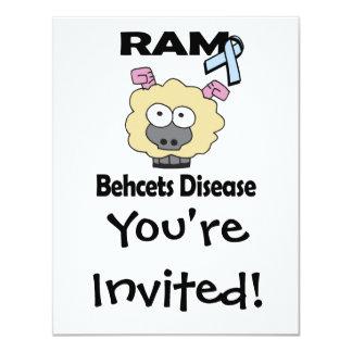 Enfermedad de RAM Behcets Invitación Personalizada