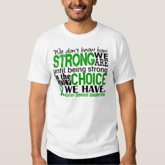 Enfermedad de riñón cómo es fuerte somos remera