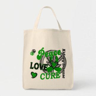 Enfermedad de riñón de la curación 2 del amor de l bolsa lienzo