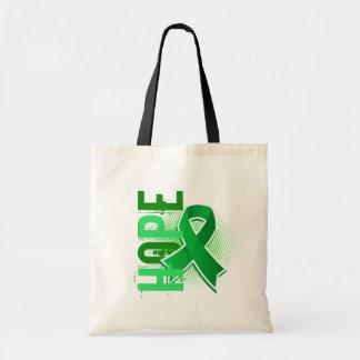 Enfermedad de riñón de la esperanza 2 bolsas lienzo