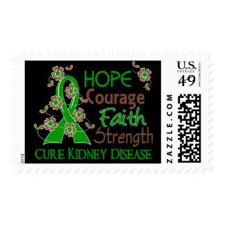 Enfermedad de riñón de la fuerza 3 de la fe del franqueo
