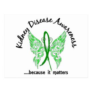 Enfermedad de riñón de la mariposa 6,1 del tatuaje postales