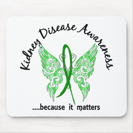 Enfermedad de riñón de la mariposa 6,1 del tatuaje tapetes de ratón