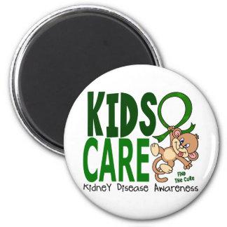 Enfermedad de riñón del cuidado 1 de los niños imán de frigorífico