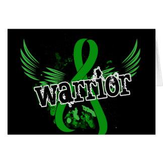Enfermedad de riñón del guerrero 16 tarjeta de felicitación