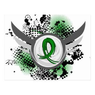 Enfermedad de riñón verde de la cinta y de las postales
