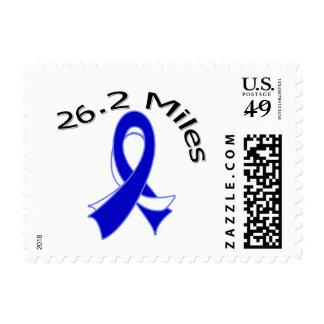 Enfermedad del ALS 26,2 millas de maratón Sello Postal