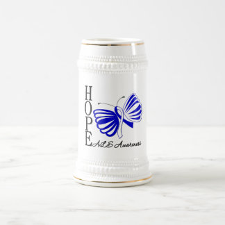 Enfermedad del ALS de la mariposa de la esperanza Taza De Café