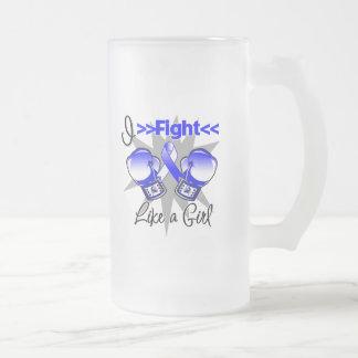 Enfermedad del ALS que lucho como un chica con los Tazas De Café