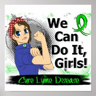 Enfermedad del animado WCDI Lyme de Rosie Posters