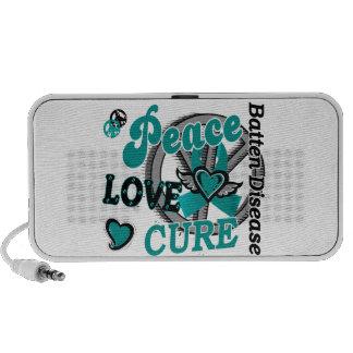 Enfermedad del listón de la curación 2 del amor de notebook altavoz