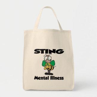 Enfermedad mental de STING (verde) Bolsa