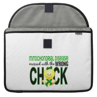 Enfermedad mitocondrial ensuciada con el polluelo funda para macbook pro