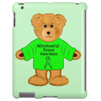 Enfermedad mitocondrial: Oso de peluche en suéter Funda Para iPad