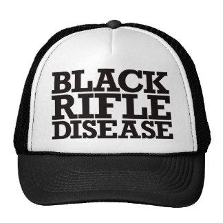 Enfermedad negra del rifle - negro gorro