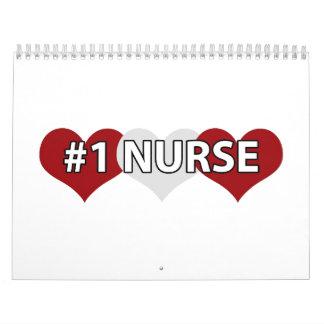 Enfermera #1 calendario