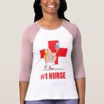 Enfermera #1 camiseta