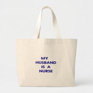 Enfermera 1 del marido bolsa de mano