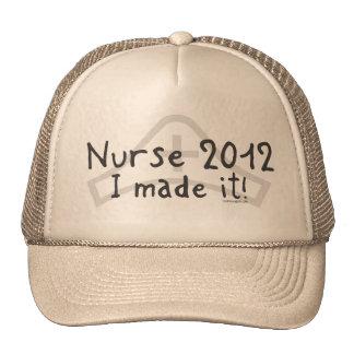 Enfermera 2012 - ¡Lo hice! Gorras De Camionero