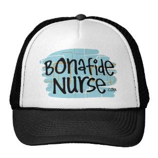 Enfermera auténtica gorros bordados