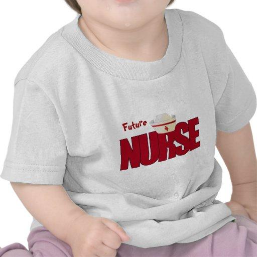ENFERMERA BIGRED con el casquillo Camisetas