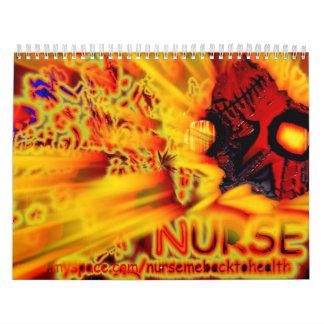 ¡enfermera! calendario
