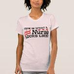 Enfermera caliente camisetas
