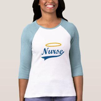 Enfermera (con halo) camiseta