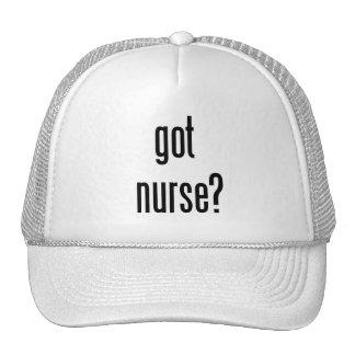 ¿enfermera conseguida? gorros