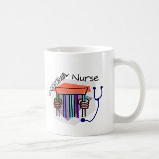 (Enfermera correccional de la prisión de la cárcel Taza