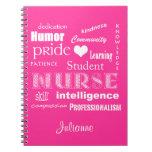 Enfermera-Cualidades del estudiante+El corazón/per Libros De Apuntes