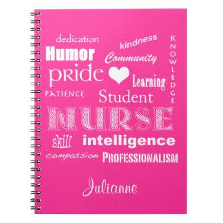 Enfermera-Cualidades del estudiante+El corazón per Libros De Apuntes