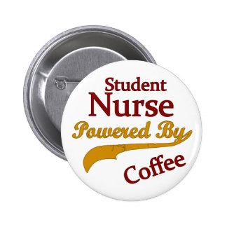 Enfermera de estudiante accionada por el café pin