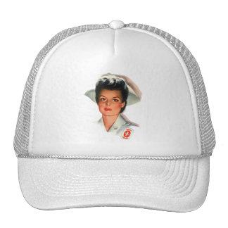 Enfermera de estudiante del oficio de enfermera gorras