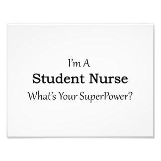Enfermera de estudiante fotografías