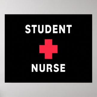Enfermera de estudiante impresiones