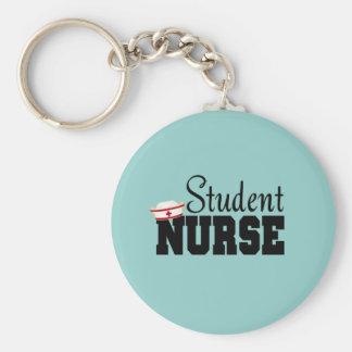 Enfermera de estudiante llaveros
