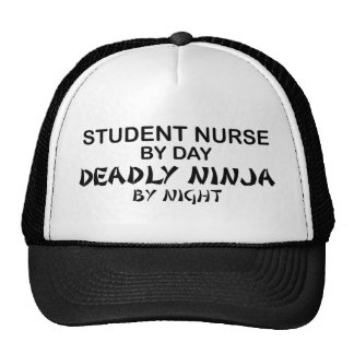 Enfermera de estudiante Ninja mortal Gorro