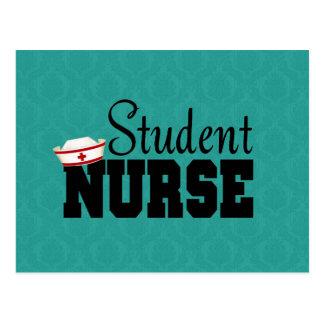 Enfermera de estudiante postales