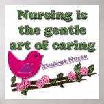 Enfermera de estudiante póster