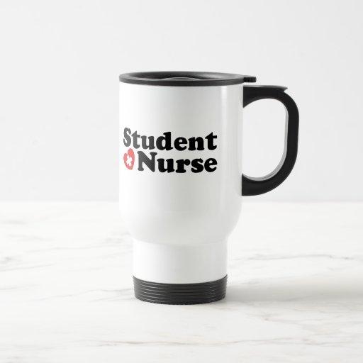 Enfermera de estudiante taza
