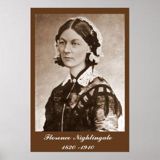Enfermera de Florence Nightingale Póster