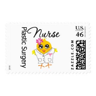 Enfermera de la cirugía plástica del polluelo v2 d