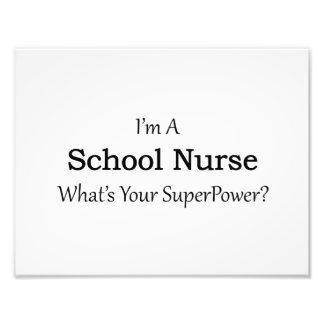 Enfermera de la escuela fotografías