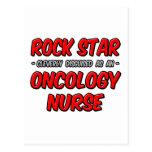 Enfermera de la oncología de la estrella del rock… tarjeta postal