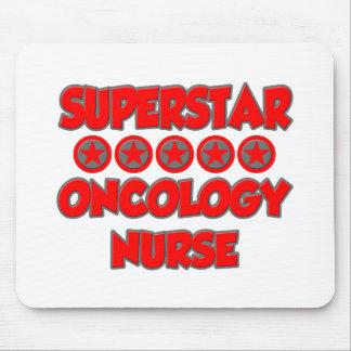 Enfermera de la oncología de la superestrella alfombrilla de ratones
