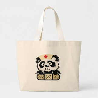 Enfermera de la panda bolsas