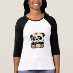Enfermera de la panda camiseta